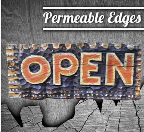 Permeable Edges